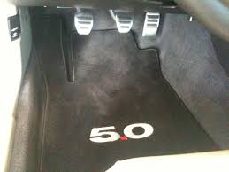 2011 ford mustang floor mats did 5 0 equal 50 cent floor mats ford mustang forum