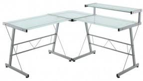 Mainstays Glass Top Desk by Modern L Shaped Computer Desk Foter