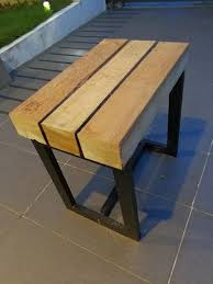 Outdoor Table And Bench Seats Chunky Pallet Bench Seat 4 Steps With Pictures