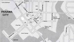 Panama City Florida Map by Driving Tour Of Historic Panama City Florida