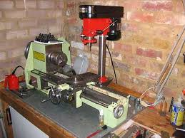 What Is A Pedestal Drill Bench Top Drill Press Converted To Milling Machine Mounted To