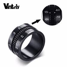 mens spinner rings aliexpress buy vinterly mens spinner rings black stainless