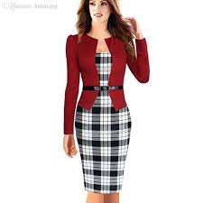 wholesale womens elegant business suits blazer with skirts formal