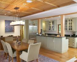 Kitchen Open To Dining Room Kitchen Dining Room Design For Exemplary Houzz Kitchen Open To
