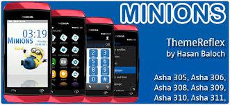 themes nokia asha 310 free download minions theme for nokia asha 305 asha 306 asha 308 asha 309 asha