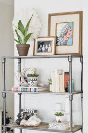 Bookshelf Styling Apartment Refresh Bookshelf Styling
