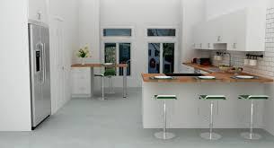 bar de cuisine moderne cuisine en l moderne avec îlot en 108 photos magnifiques