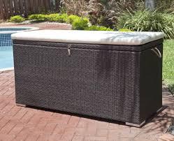 outdoor cushion storage box outdoor cushions pinterest