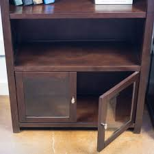 book case with glass doors pacifica 76