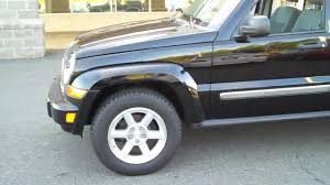 black jeep liberty p6305 black 2007 jeep liberty limited from kefferselect com youtube