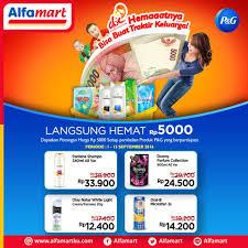 Parfum Di Alfamart beli produk p g di alfamart langsung hemat rp 5 000 periode 1 15