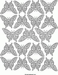 complex butterfly coloring pages widescreen coloring complex
