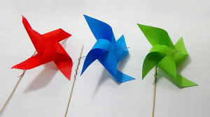 how to make a windmill with paper easy and simple steps youtube