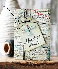 travel gift card adventure awaits adventure awaits distress ink and envelopes