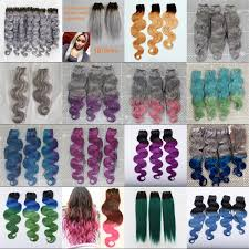 mermaid hair extensions ombre hair extensions mermaid 1b blue green