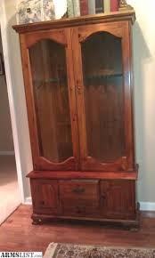 Pine Gun Cabinet Armslist For Sale Antique Knotty Pine Gun Cabinet