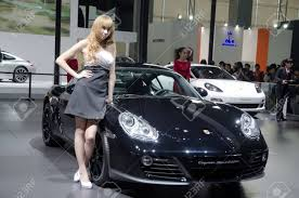 cayman porsche black guangzhou china nov 26 unidentified model with porsche cayman