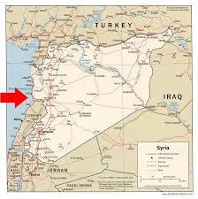 Map Of Syria And Russia Eaglespeak Syria Russia Supports The Dictator Ships