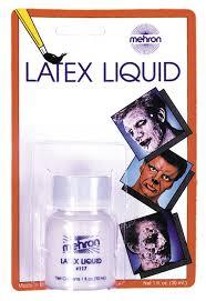 spirit halloween liquid latex amazon com mehron makeup liquid latex for special effects
