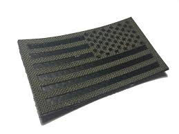 Flag Ir Reversed Infrared Reflective Multicam Ir Us Flag Patch 3 5x2