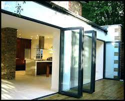 Folding Exterior Door Modern Bifold Doors Exterior Doors Glass Door Glass Doors For