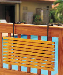 patio railing table unique shaped decoration fence