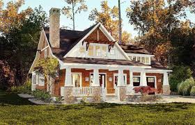 storybook bungalow with screened porch 18266be architectural