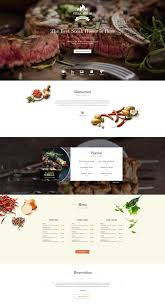 steak house restaurant wordpress theme for brasserie u0026 bar websites