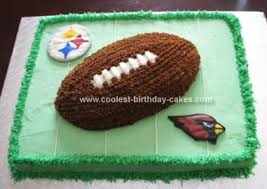 coolest superbowl cake homemade and cakes