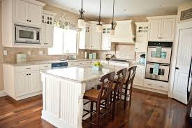 Latest Kitchen Backsplash Trends Kitchen Cabinets Cherry Cabinets With White Subway Tile