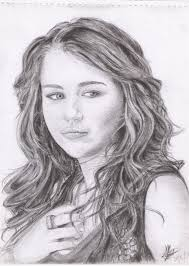 miley cyrus sketch by rayjaurigue on deviantart