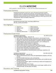 Family Caregiver Resume Free Resume Samples For Cna Professional Resumes Sample Online