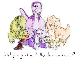 the land before time the last unicorn by gloryhunter93 on deviantart
