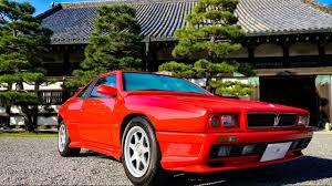 maserati shamal 4k maserati shamal classic car 1994 youtube