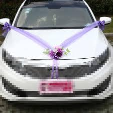 Wedding Car Decorations Aliexpress Com Buy Wedding Car Decoration Artificial Flowers