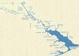 Elizabeth Colorado Map by The Pasquotank River Map