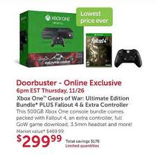 best black friday deals on xbox best black friday and thanksgiving video game deals for 2015