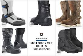 biker riding boots 5 best motorcycle boots gear patrol