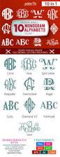 best 25 monogram letters font ideas on pinterest capital letter