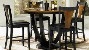 Black Dining Room Set Dining Room Reclaimed Wood Counter Height Table Beautiful Tall