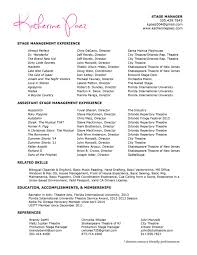 Manager Experience Resume Front Of House Manager Resume Resume For Your Job Application