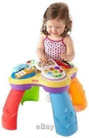 sit to stand activity table fisher price baby sit and stand and play music activity table center