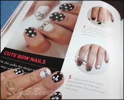 notw diy nail art 33 cute bow nails d g s beauty