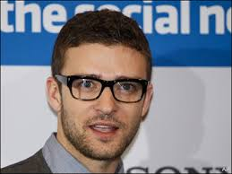 "Justin Timberlake, promoting ""The Social Network"""