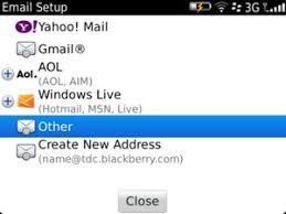 cara membuat yahoo mail di blackberry set up pop3 imap email blackberry bold 9790 7 1 device guides