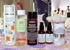 flutter and sparkle my mostly kiehl u0027s skincare routine and the