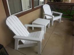 ana white home depot adirondack footstool diy projects