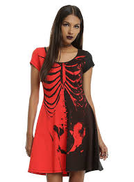 Iron Fist Halloween Costume Iron Fist Ash Costello Bat Royalty Rib Cage Black U0026 Red Dress