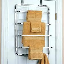 over cabinet door towel bar over cabinet door towel bars rack four tier the chrome image shower