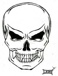 best 25 simple skull drawing ideas on pinterest skull drawings